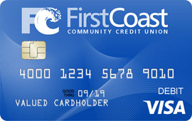 use your first coast visa debit card as an atm card or for purchases wherever visa is accepted for your convenience there is no charge when using your - Visa Debit Card