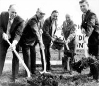 Breaking ground on our first location in 1973.
